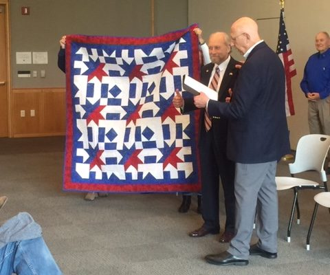 Quilts Of Valor Foundation Upstate Sc Quilt To Honor